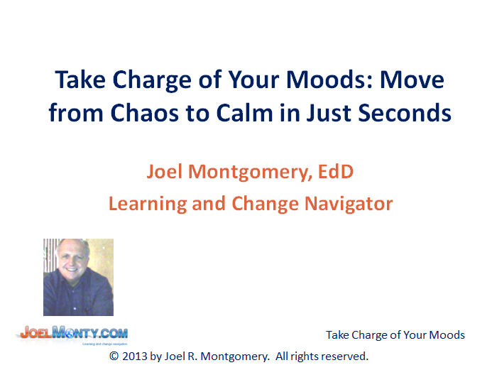 Take Charge of Your Moods