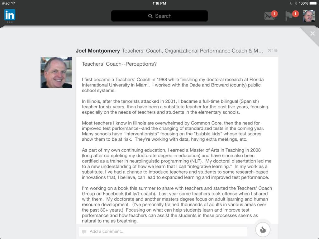 Teachers-Coach-Post-on-LinkedIn – joelmonty com